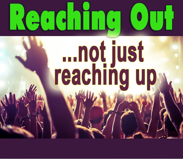 **Turn on Remote Content to see images.** Reaching Out... Not Just Reaching Up. A conference about how to reach outside the church walls.