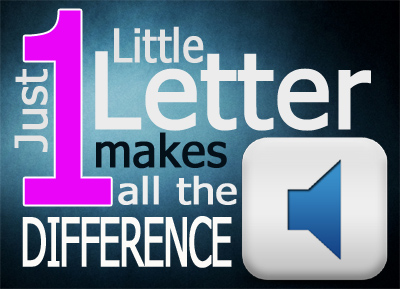 Just One Little Letter Makes All The Difference, free online music ministry mentoring module