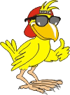 MC Hatch the funky chicken mascot for Incubator Creative Group since 1989